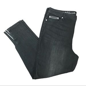 D/C Jeans Slightly Curvy High Rise Black Jeans